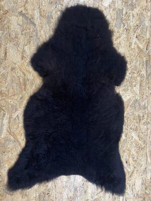 Schapenvacht bruin/zwart